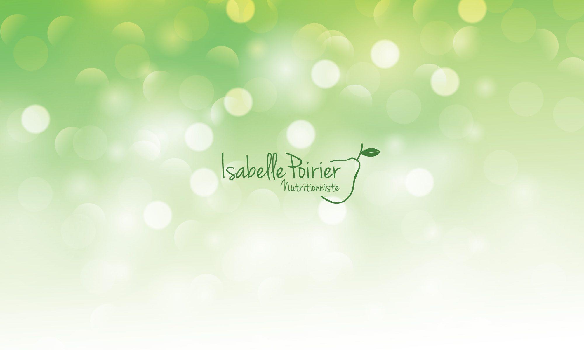 Isabelle Poirier Nutritionniste