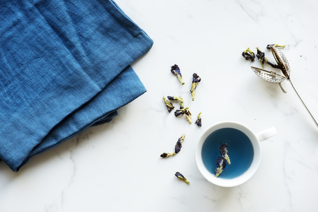 tisane bleue nutrition